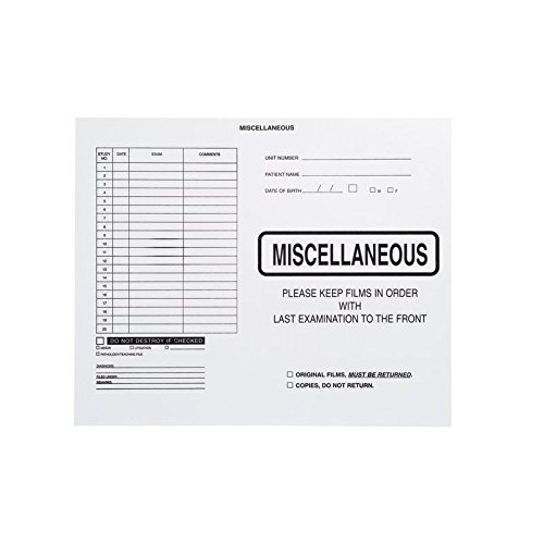 Miscellaneous, No Border-Black Imprint - Category Insert Jackets, System I, Open Top - 14-1/4'' x 17-1/2'' (Carton of 250)