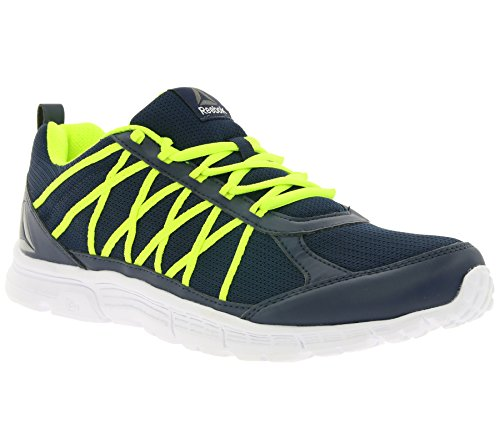 Reebok Bd5443, Zapatillas de Trail Running para Hombre Azul (Collegiate Navy /             Solar Yellow /             White /             Pewte)