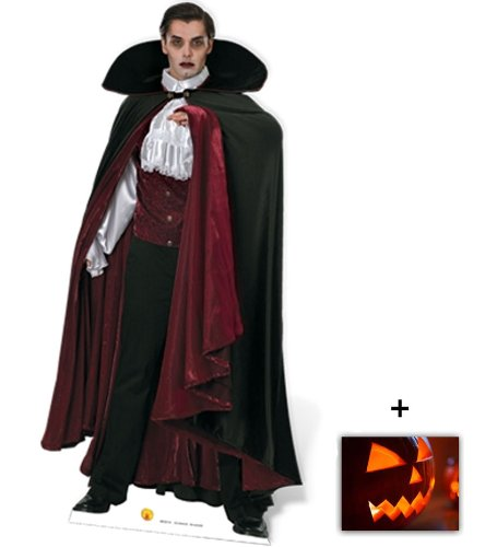 Vampire / Dracula - Horror/Halloween Lifesize Cardboard Cutout / Standee / Standup - Includes 8x10 (20x25cm) Star Photo by (Starstills UK) Fan Packs