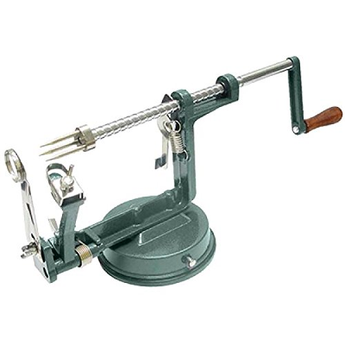 Winco AP-12, Cast Aluminum Apple Peeler, Corer Slicer Cutter Machine with Strong Suction Base by Winco (Image #1)
