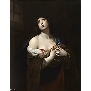 Oil Painting 'Vaccaro Andrea Santa Agueda Ca. 1635', 8 x 10 inch / 20 x 26 cm , on High Definition HD canvas prints is for Gifts And Dining Room, Home Theater And Nursery Decoration, fast