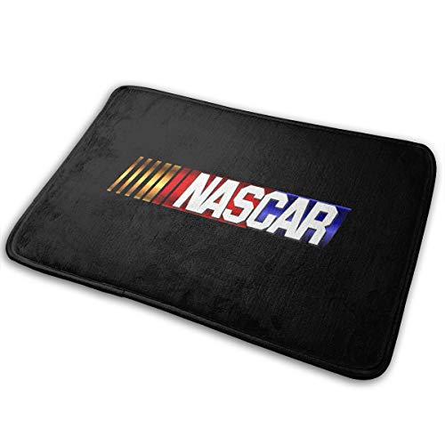 Kurabam Doormat NASCAR Logo Funny Inside Indoor Welcome Personalized Hello Doormats Absorbant Mats Rug Carpet ()