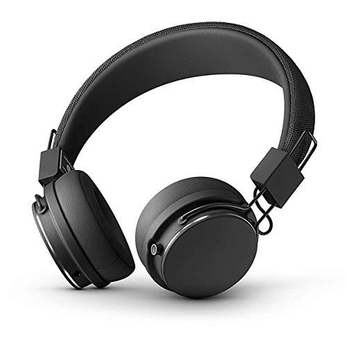 Urbanears Plattan 2 Bluetooth On-Ear Headphone, Black (04092110) (Renewed)