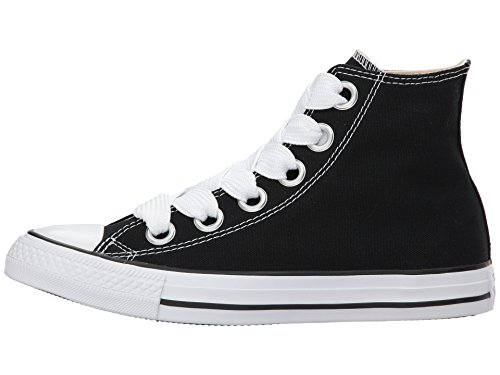 Donna Natural Fitness White Hi Ctas Converse 001 da Chuck Nero Black Scarpe Canvas Eyelets Taylor Big CwCvUzOq