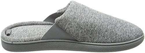 Dearfoams Closed Toe Scuff - Pantuflas Mujer Grey (Sleet)