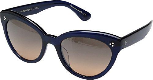 Oliver Peoples Eyewear Women's Roella Sunglasses, Denim/Sunrise Gradient, One - Glasses Peoples Cateye Oliver