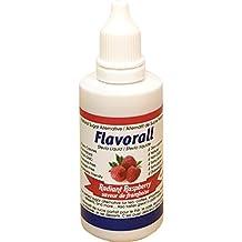 Flavorall Liquid Flavoured Stevia (Alcohol-Free), Radiant Raspberry, 50ml