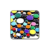 Bubble Body Piercing Value Pack of Uv Acrylic Enamel Plugs - Pack of 250 Pcs