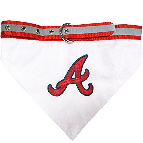 Atlanta Braves Adjustable Dog Collar - 9