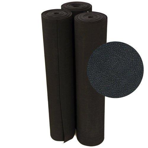 - Rubber-Cal Tuff-N-Lastic Rubber Flooring Runners, 1/8-Inch x 4 x 15-Feet, Black