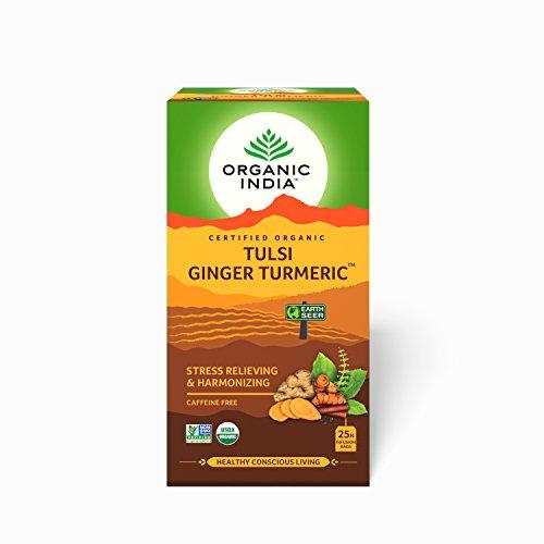 tulsi ginger turmeric tea bags