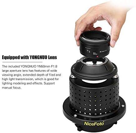 Nicefoto Sn 29 Flash Light Concentrator Conical Snoot Kamera