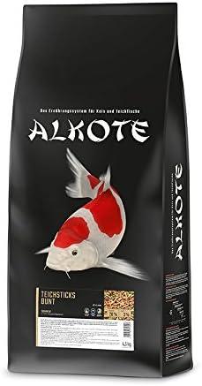 AL-KO-TE de te, 1Estaciones, de Forro para Peces Koi, Verano, Nadando Sticks, 4mm, Estanque Sticks, 4,5kg