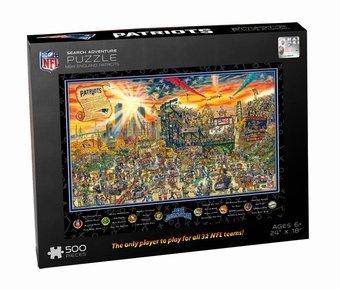 Joe Journeyman NFL New England Patriots Jigsaw Puzzle, 500-Piece