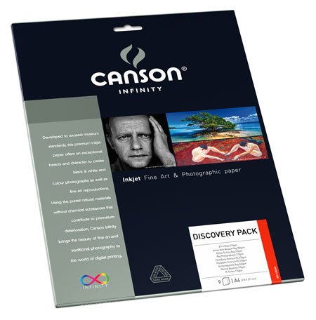 Canson Infinity - Discovery Pack - 9 Assorted 8.5