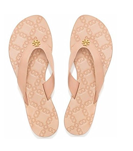 20d952ae062d7d Tory Burch Monroe Thong Sandals in Light Makeup 9 - Buy Online in ...