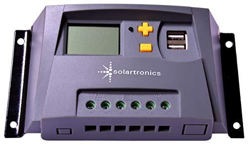 solartronics 10A Laderegler G 12V/24V gelb Photovoltaik Solarladeregler Solar PV
