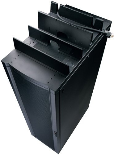 American Power Conversion Shielding Partition Solid 600mm Wide Black Tool-Less Mounting