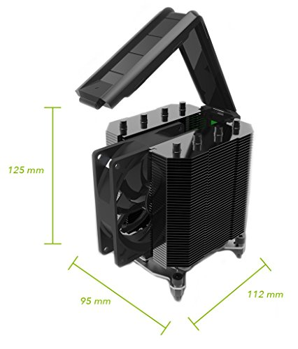 Phononic HEX 2.0 Thermoelectric CPU Cooler, Black by Phononic (Image #1)