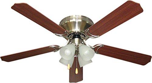 "Craftmade Lighting BRC52BNK5C Brilliante - 52"" Ceiling Fan,"