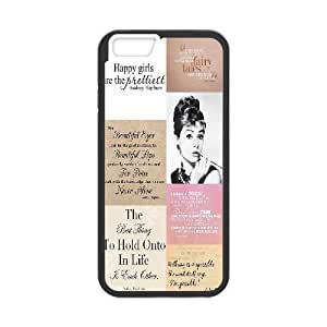 fashion case Audrey Hepburn Quotes The Unique Printing Art Custom cell phone ZPAmWsWucW case cover foriphone 6 4.7diy cover case cover