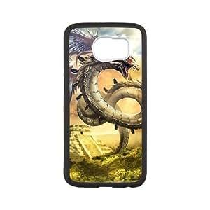 Samsung Galaxy S6 phone case Black Ancient Dragon RRTY7500632