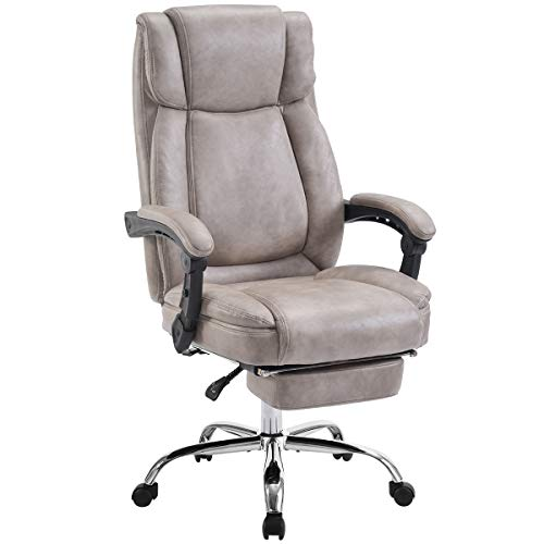 Merax Executive Reclining Office Chair High Back Napping