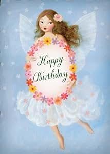 Happy Birthday Special Girl tarjeta de felicitación by Stephen Mackey