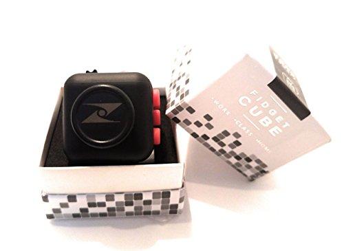 Z Cube - Fidget Cube (Black w/Red) (Halloween Physical Education Games Preschool)