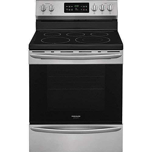 Frigidaire Gallery 5.4 Cu. Ft. Self-Cleaning Freestanding Electric Convection Range Stainless steel FGEF3036TF