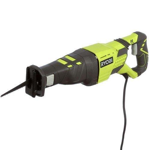 Ryobi ZRRJ186V 12-Amp Corded Reciprocating Saw (Renewed)