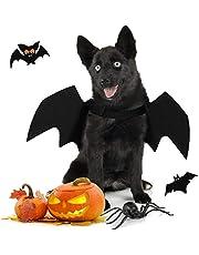 Joyibay Hond Halloween Kostuum, Halloween Vleermuis Hond Vleugels Huisdier Dress UP Feestkostuums Mooie Vleermuis Vleugels Voor Honden Cosplay Decoratie