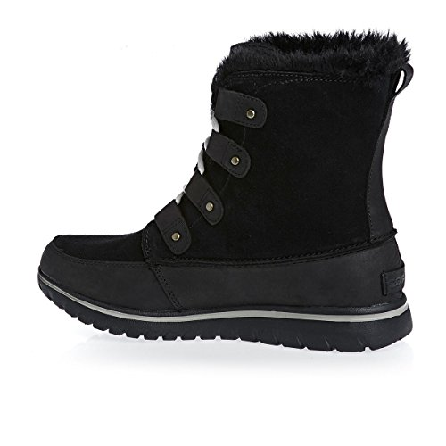 Cozy Black Sorel Boots Mid Joan daHBrH