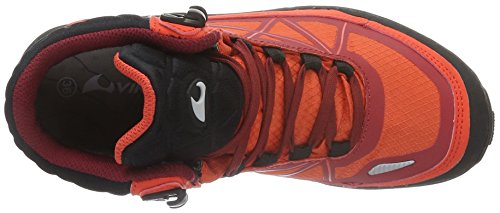 Rot Dark Red Rojo Unisex Viking Senderismo 1052 II Zapatillas Adulto Red de Ascent xwZBPpvBq8
