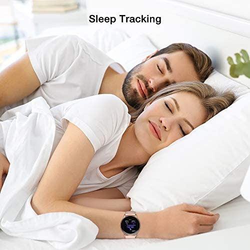 """Smart Watch, UMIDIGI Uwatch 2S Fitness Tracker Heart Rate Monitor, Activity Tracker with 1.3"""" Touch Screen, 5ATM Waterproof Pedometer Smartwatch Sleep Monitor for iPhone and Android. 4"""