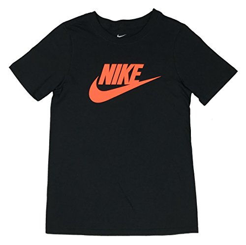 nike Boy's Graphic T Shirt Swoosh Logo (Small)