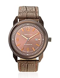 TimeSmith Limited Edition Brown Dial Brown Genuine Leather Watch for Men with Date TSM-103