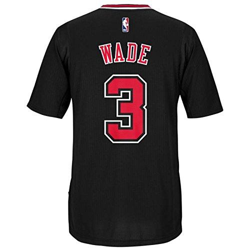 Dwayne Wade Chicago Bulls Adidas Alternate Swingman Jersey (Black) - Wade Jersey Dwayne