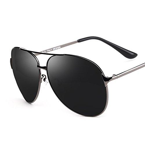 de Hombre Gafas clásico A Aviador Marco protección de polarizado para conducción Yxsd piloto Calidad B con Color UV400 de Sol Mujeres para Primera de Metal SunglassesMAN nx6wqB0px