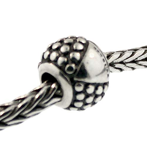 Authentic Trollbeads Sterling Silver 11252 Etruscan