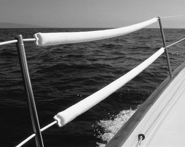 Taylor Made Products LC150.30 DockGard Perimeter Sailing Boat Life-Line Cushions (Pair) (3')
