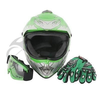 Motorcycle Helmet With Flames - 1