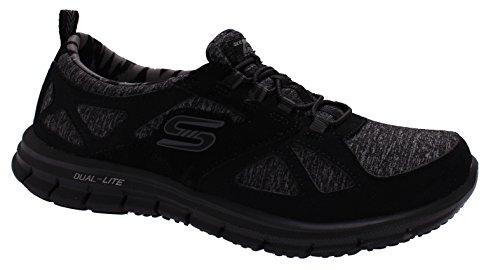 Skechers Glider About Time Womens Slip On Sneakers Black 10