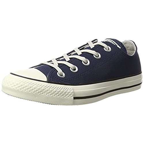 77eb4f32e57e8c CONVERSE CHUCK TAYLOR ALL STAR COATED LEATHER OX MIDNIGHT NAVY BLACK EGRET  new