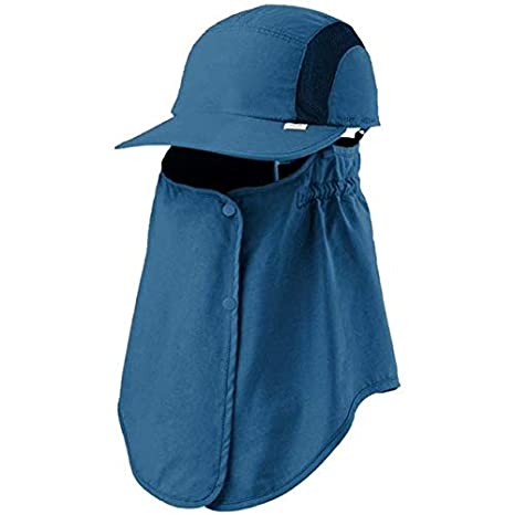 760df191 Value-Home-Tools - Outdoor Sport Hiking Visor Hat UV Protection Face Neck  Cover Fishing Sun Protect Cap - - Amazon.com