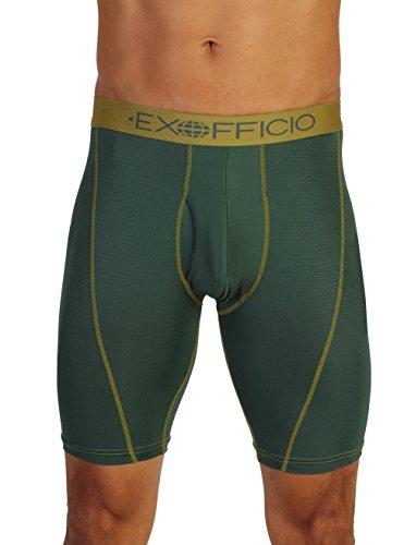 ExOfficio Men's Give-N-Go Sport Mesh 9-Inch Boxer Brief, Pet