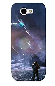 Defender Case With Nice Appearance (lost Planet 3) For Galaxy Note 2 / Gift For New Year's Day
