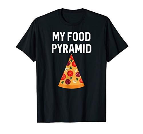 food pyramid pizza shirt - 8