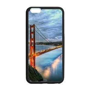 Custom Golden Gate Bridge Design TPU Case Protector For iPhone6 Plus