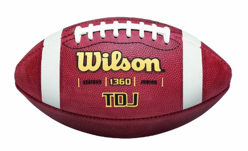Nfl Youth Wilson Football (Wilson TDJ Junior Leather Game Football)